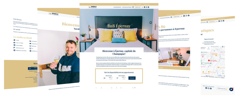 Création de sites wordpress pour l'hotellerie, hotels, airbnb